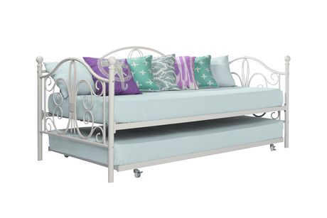 Bombay Twin Metal Daybed And Twin Size Trundle Walmart