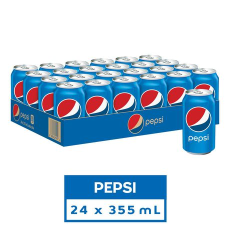 Pepsi, 355mL Cans, 24 Pack - image 1 of 6