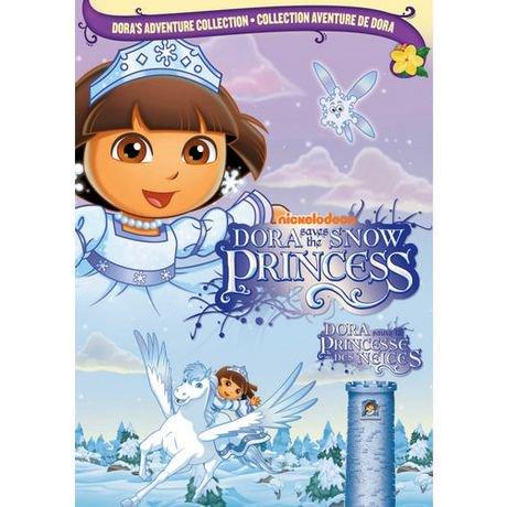 Dora l 39 exploratrice dora sauve la princesse des neiges walmart canada - Dora princesse des neiges ...
