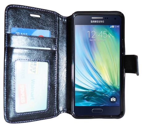 reputable site 652c7 d7755 Exian Wallet Case for Galaxy A5 in Black