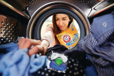 ARM & HAMMER Plus OxiClean Fresh Scent Concentrated Laundry Detergent - image 2 of 2