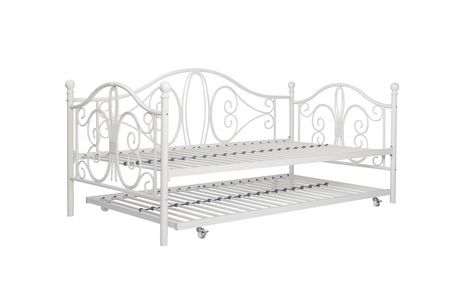 bombay twin metal daybed and twin size trundle walmart canada. Black Bedroom Furniture Sets. Home Design Ideas
