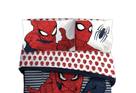 Spiderman Twin Sheet Set - image 1 of 1