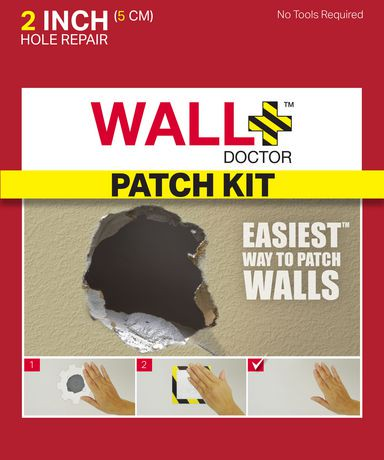 Wall Doctor 2 Quot Drywall Repair Patch Kit Walmart Canada