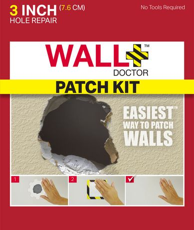Wall Doctor 3 Quot Drywall Repair Patch Kit Walmart Canada