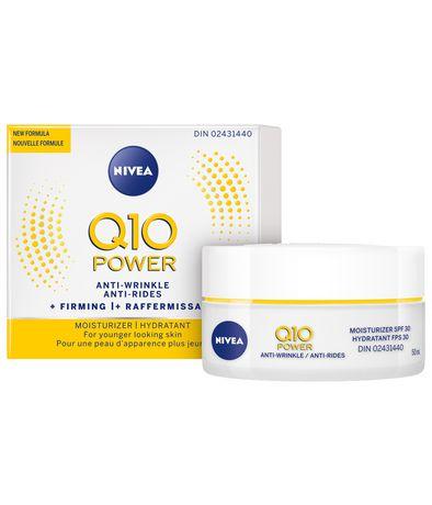 Nivea Q10 POWER Anti-Wrinkle + Firming Day Moisturizer with SPF 30 50mL