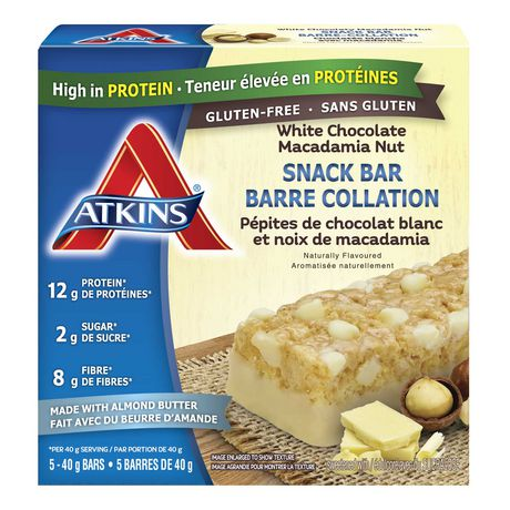 Atkins White Chocolate Macadamia Nut Snack Bar - image 1 of 2