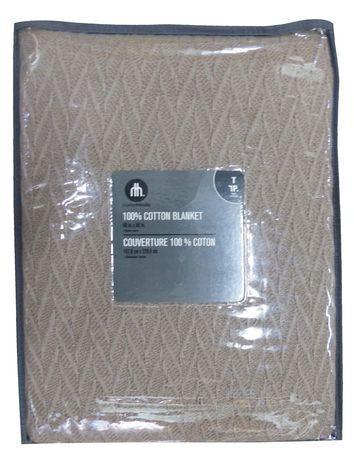 hometrends 100% Cotton Blanket - image 1 of 1