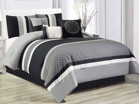 Safdie Amp Co Home Deluxe Collection Grey 100 Polyester