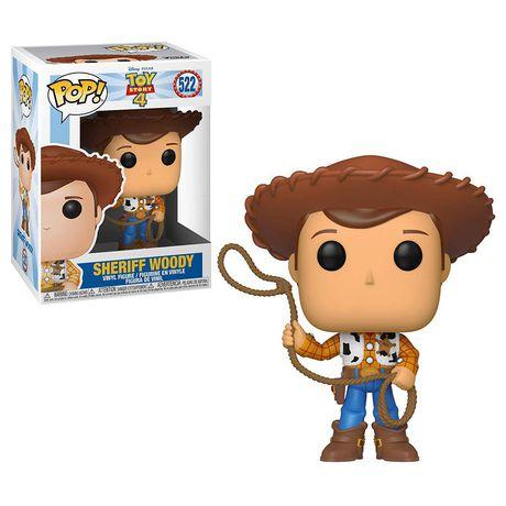 Figurine en vinyle Sheriff Woody de Toy Story 4 par Funko POP! - image 1 de 1