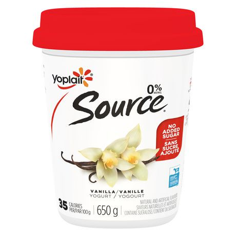Yoplait Source Vanilla...