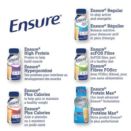 Ensure Regular Complete Balanced Nutrition Orange Cream 6 X 235 Ml