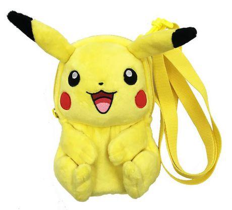 Sac en peluche Pikachu corps entier d'Hori - image 1 de 2