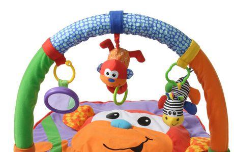 Infantino 174 Merry Monkey Explore Amp Store Activity Gym