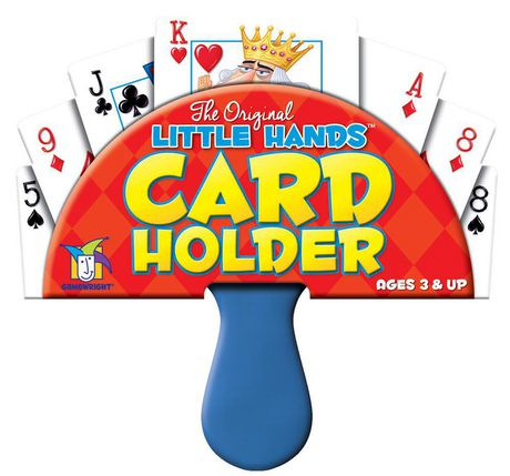 Gamewright Little Hands Playing Card Holder - image 1 of 2