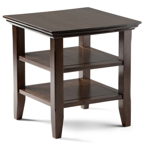 wyndenhall normandy end side table. Black Bedroom Furniture Sets. Home Design Ideas