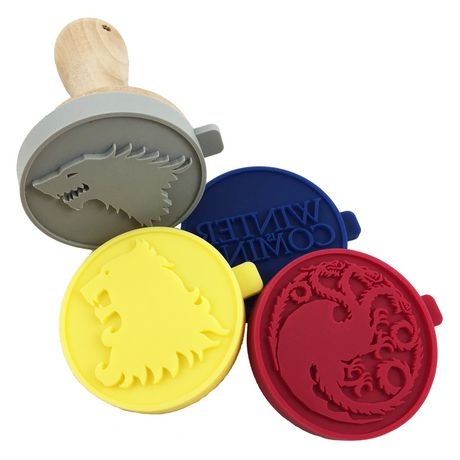 Game of Thrones Silicone Cookie Stamps - image 1 of 2