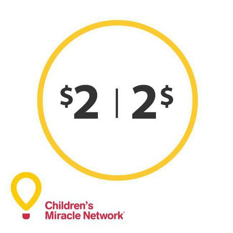 Children's Miracle Network $2 Donation - image 1 of 1