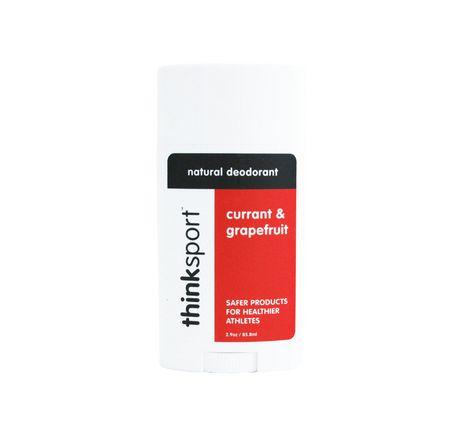 Déodorant naturel thinksport au pamplemousse et à la groseille - image 1 de 1