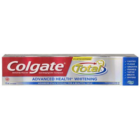 Colgate Total Advanced Health Whitening Gel Toothpaste - image 1 of 4
