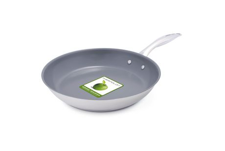 Green Life 10 Quot Healthy Ceramic Non Stick Fry Pan Walmart