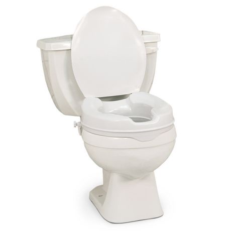 2 inch toilet seat.  Profilio Raised Toilet Seat with Lid White 2 Inch Walmart Canada