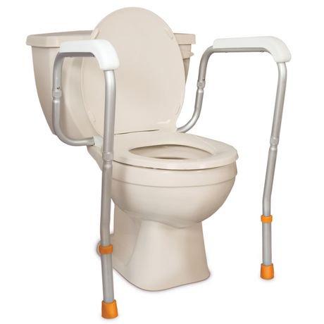 Profilio Adjustable Toilet Safety Rails | Walmart Canada