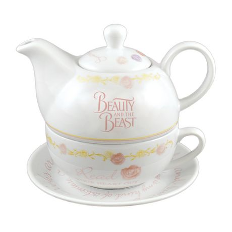 Disney Beauty and the Beast 16 oz Tea Set - image 1 of 3