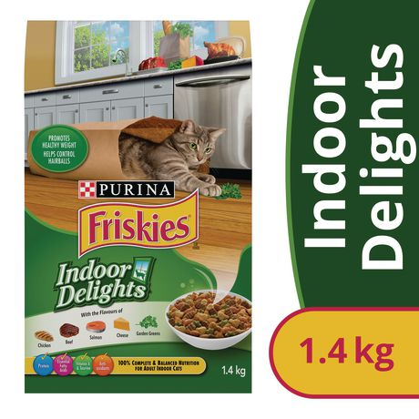 Friskies Indoor Delights Dry Cat Food - image 1 of 5