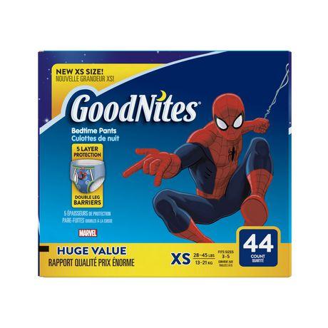 Sous-vêtements de nuit GoodNites contre l'énurésie nocturne, Emballage Giga - image 1 de 1