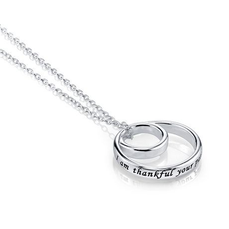 wide omega necklace silver sterling