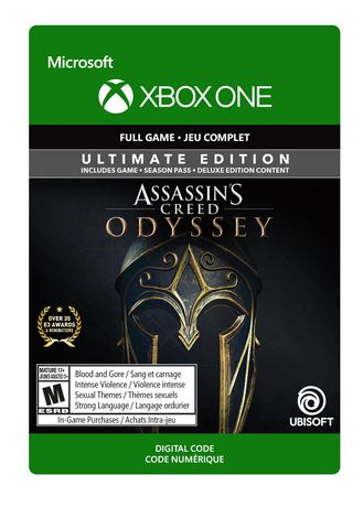 Xbox One Assassin's Creed Odyssey: Ultimate Edition [Download]
