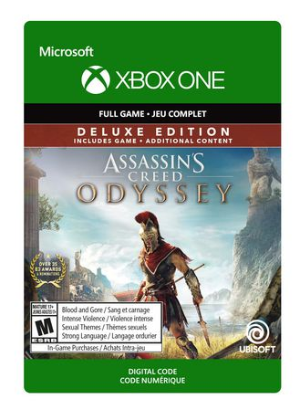 Xbox One Assassin's Creed Odyssey: Deluxe Edition [Download] - image 1 of 1
