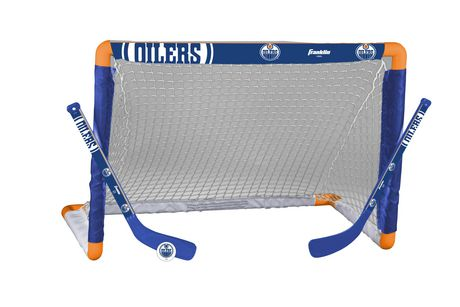 Oilers Mini Hockey Goal Set Walmart Canada