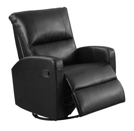 fauteuil inclinable monarch specialties en cuir. Black Bedroom Furniture Sets. Home Design Ideas