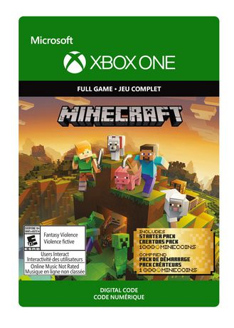 minecraft xbox one edition digital code free