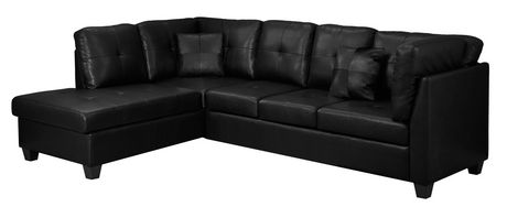 Monarch Specialties Bonded Leather Sofa