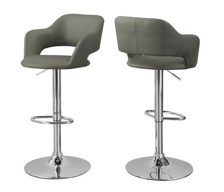 Awesome Monarch Specialties Chrome Metal Bar Stool Uwap Interior Chair Design Uwaporg