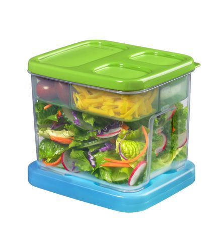 Newell Rubbermaid Lunchblox Salad Kit - image 1 of 2