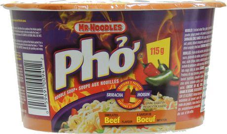 mr noodles pho simulated beef noodle soup walmart canada