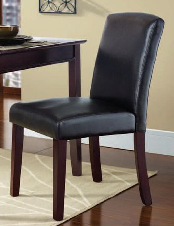 Amazing ... Walmart Leather Dining Room Chairs By Hometrends Espresso Dining Chair  Walmart Ca ...