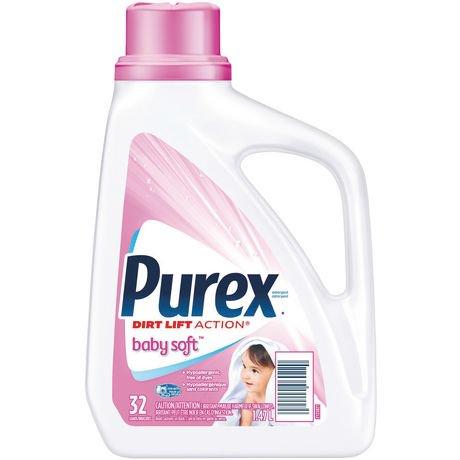 Purex Baby Soft Dirt Lift Action Laundry Liquid Walmart