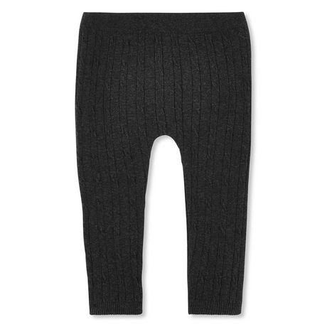 George Baby Girls' Cable Knit Leggings - image 1 of 2