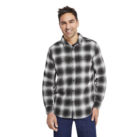 George Men's Flannel Shirt - image 1 of 6