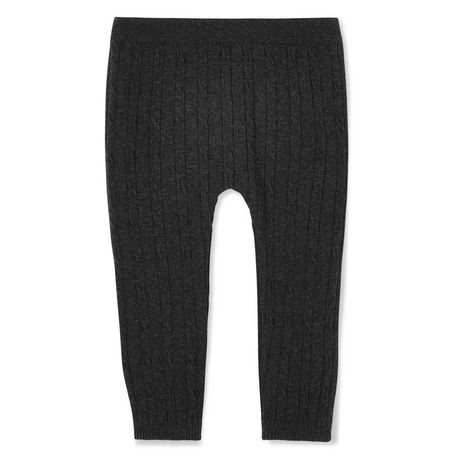 George Baby Girls' Cable Knit Leggings - image 2 of 2