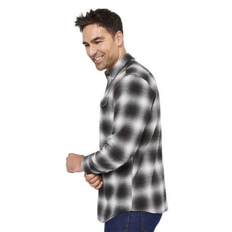 George Men's Flannel Shirt - image 2 of 6