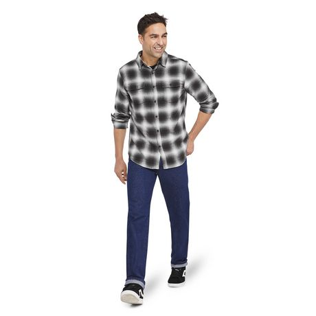 George Men's Flannel Shirt - image 5 of 6