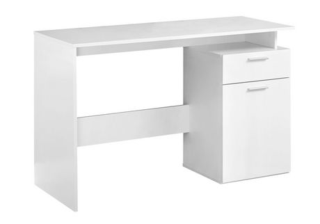 white office table.  Table Monarch Specialties Inc White Office Desk To Table I