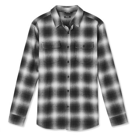 George Men's Flannel Shirt - image 6 of 6
