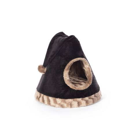 Prevue Pet Kitty power paws Cozy Cap Black And brown - image 1 of 1